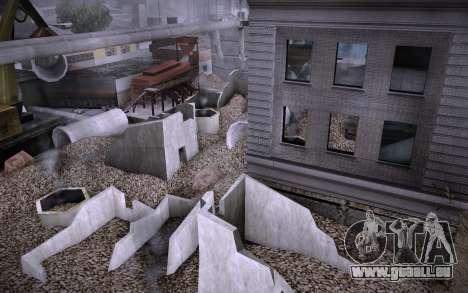 Bâtiment sur Grove Street v0.1 Beta pour GTA San Andreas septième écran