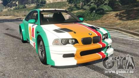 BMW M3 GTR E46 PJ3 pour GTA 5