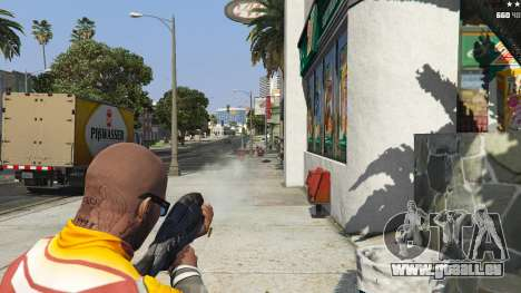 GTA 5 M-8 Avenger из Mass Effect 2 cinquième capture d'écran