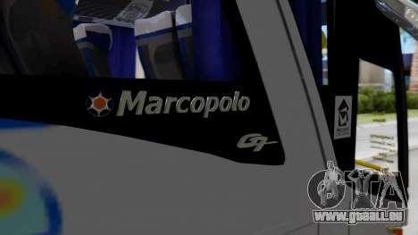 Marcopolo Bus Caribbean Travel pour GTA San Andreas vue arrière