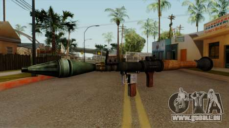 Original HD Rocket Launcher für GTA San Andreas