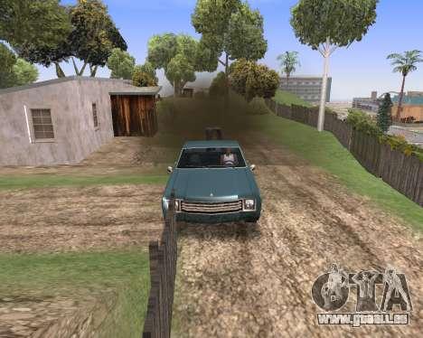 Blood Effects für GTA San Andreas zweiten Screenshot