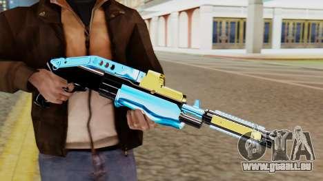 Fulmicotone Shotgun pour GTA San Andreas troisième écran