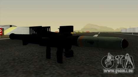 Homing Rocket Launcher pour GTA San Andreas deuxième écran