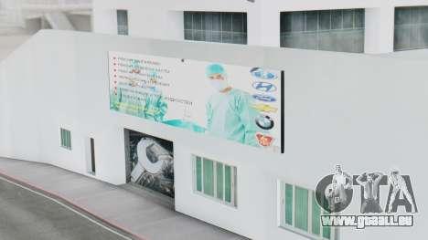 Le Concessionnaire MAGR-Auto pour GTA San Andreas quatrième écran