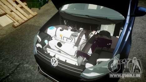 Volkswagen Polo pour GTA 4 Vue arrière