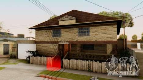 New House for CJ für GTA San Andreas