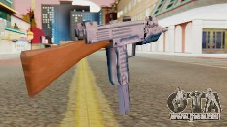 IMI Uzi v2 SA Style für GTA San Andreas zweiten Screenshot