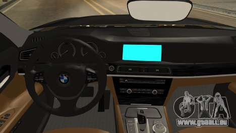 BMW 750Li 2012 pour GTA San Andreas vue de droite