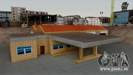 Neue Strukturen in der alten garage in Doherty für GTA San Andreas zweiten Screenshot