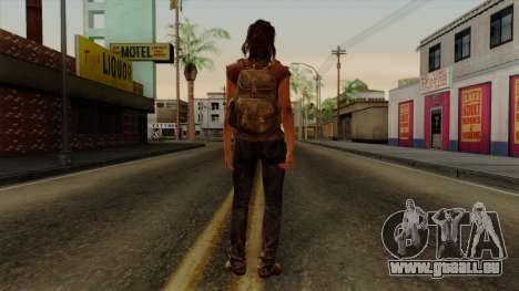 Tess from The Last of Us für GTA San Andreas dritten Screenshot