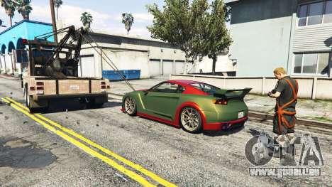 GTA 5 Rufen Sie einen Abschleppwagen v1.3 dritten Screenshot