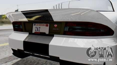 GTA 5 Banshee pour GTA San Andreas vue intérieure