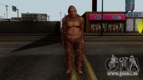 GTA 5 Bigfoot für GTA San Andreas zweiten Screenshot