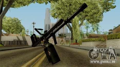 Original HD Flame Thrower für GTA San Andreas