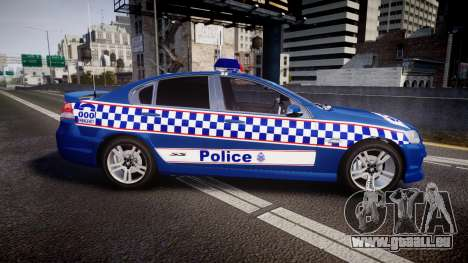 Holden VE Commodore SS Highway Patrol [ELS] v2.0 für GTA 4 linke Ansicht