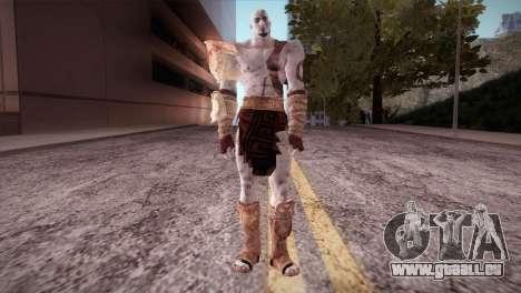 God Of War 3 Kratos pour GTA San Andreas