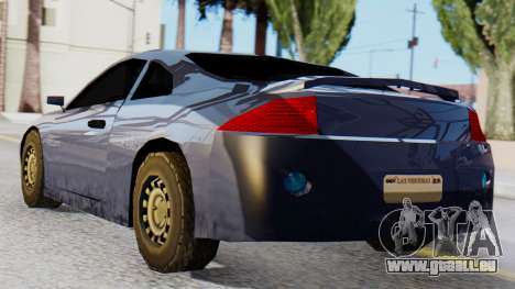 Mitsubishi Eclipse GSX SA Style pour GTA San Andreas laissé vue