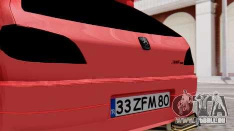 Peugeot 306 GTI für GTA San Andreas Rückansicht