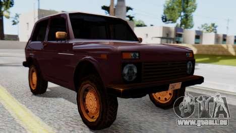 Les VASES Niva 2121 SA Style pour GTA San Andreas