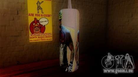 La poire avec Rey Mysterio pour GTA San Andreas