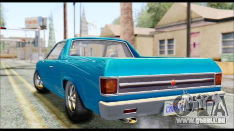 GTA 5 Cheval Picador IVF pour GTA San Andreas laissé vue