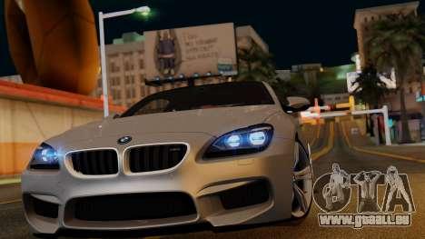 BMW M6 2013 v1.0 pour GTA San Andreas roue