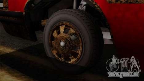 GTA 5 Albany Emperor Worn IVF pour GTA San Andreas sur la vue arrière gauche