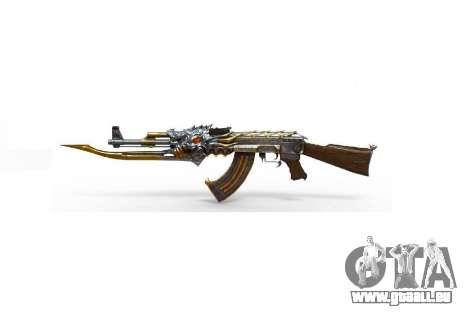 GTA 5 AK-47 Bête troisième capture d'écran