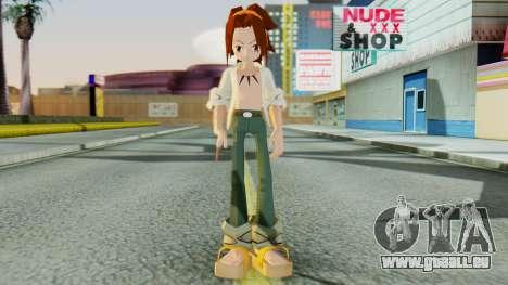 Yoh Asakura für GTA San Andreas zweiten Screenshot