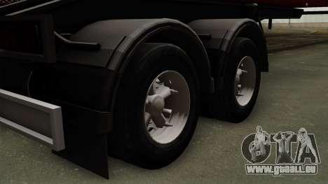 Trailer Dumper für GTA San Andreas zurück linke Ansicht