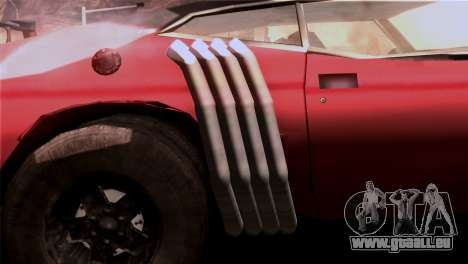 Ford Falcon XA Red Bat Mad Max 2 pour GTA San Andreas vue intérieure