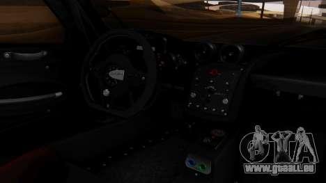 Pagani Zonda Revolucion 2015 für GTA San Andreas rechten Ansicht