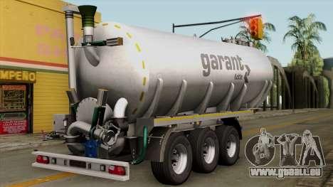 Trailer Kotte Garant für GTA San Andreas linke Ansicht
