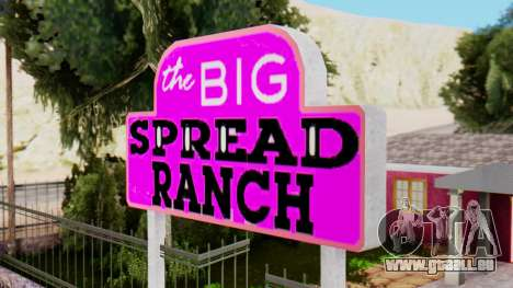 De nouvelles textures du club à Las Venturas pour GTA San Andreas deuxième écran