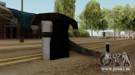 Original HD Jetpack pour GTA San Andreas deuxième écran