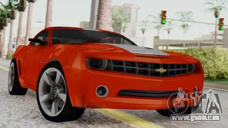 NFS Carbon Chevrolet Camaro IVF pour GTA San Andreas