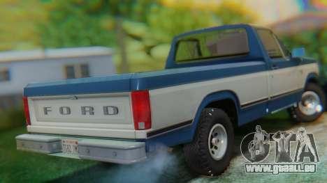 Ford F-150 1984 Final pour GTA San Andreas sur la vue arrière gauche
