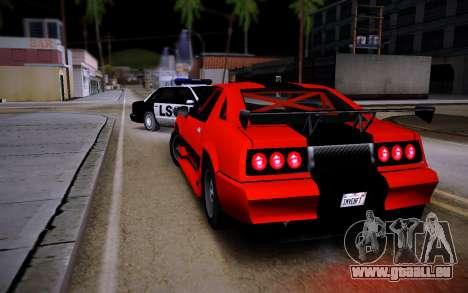 Buffalo GTR für GTA San Andreas linke Ansicht