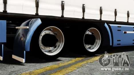 Renault Magnum pour GTA 4 Vue arrière