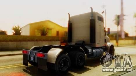 GTA 5 MTL Packer Trainer IVF pour GTA San Andreas sur la vue arrière gauche
