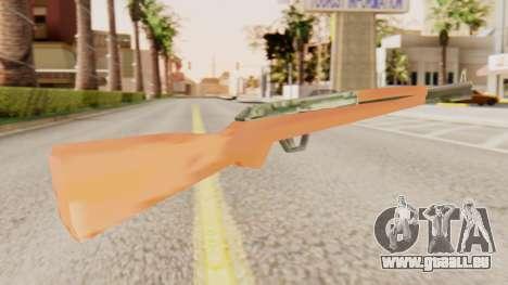 M1 Garand pour GTA San Andreas deuxième écran