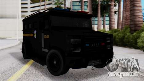 GTA 5 Enforcer Raccoon City Police Type 2 für GTA San Andreas