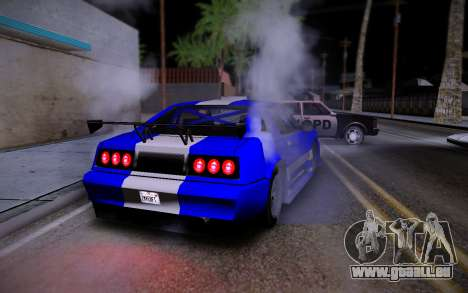 Buffalo GTR für GTA San Andreas zurück linke Ansicht