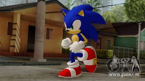 Sonic the Hedgehog HD für GTA San Andreas