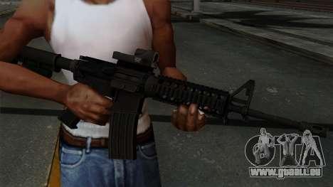 AR-15 Elcan pour GTA San Andreas troisième écran
