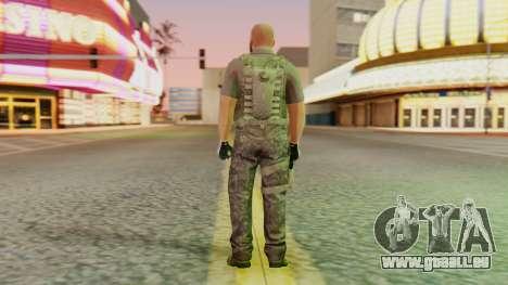 [GTA5] BlackOps2 Army Skin für GTA San Andreas dritten Screenshot