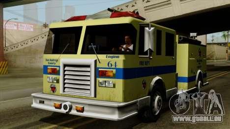 SAFD SAX Airport Engine pour GTA San Andreas