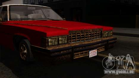 GTA 5 Albany Emperor Worn IVF pour GTA San Andreas vue de droite