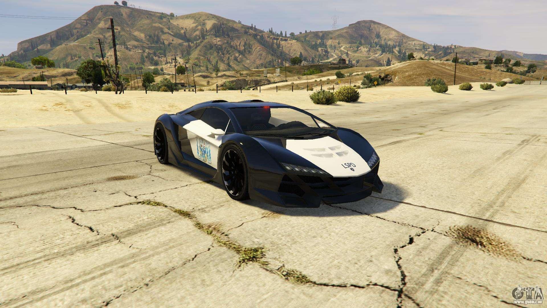 Lamborghini Police Zentorno Lspd V3 0 F 252 R Gta 5